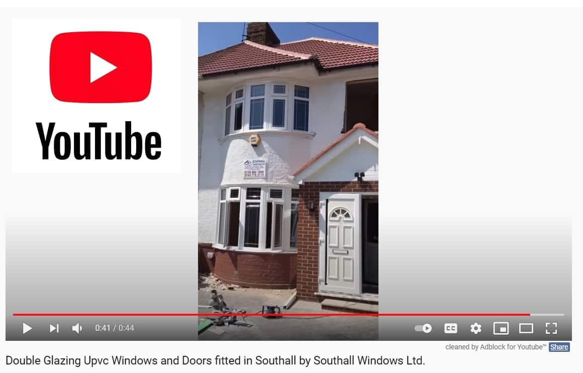 Double Glazing Upvc Windows and Doors fitted by Southall Windows Ltd.