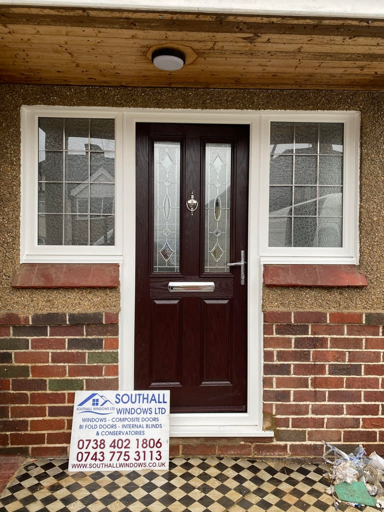 Rosewood Composite door in Ruislip